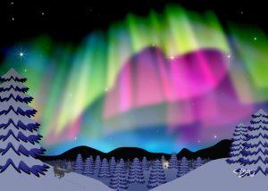 Winter Sky Love